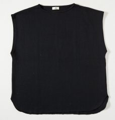 BIG VEST CUT SEW BLACK
